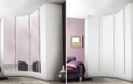 Corner wardrobe / contemporary